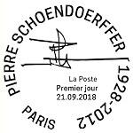 Oblitération 1er jour à Paris au carré d'Encreet à Chamalière (63400) du 21 au 23 septembre 2018