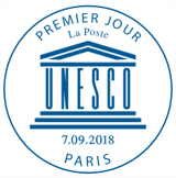 Oblitération 1er jour à Paris au Carré d'Encre le 7 et 8 septembre 2018