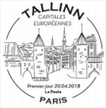 Oblitération 1er jour à Paris au carré d'Encre le 20 et 21 avril 2018