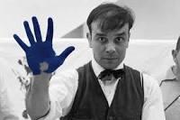 « Anthropométrie de l'époque bleu » oeuvre d'Yves Klein (1928-1962)