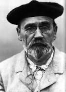 Emile Zola (1840-1902) écrivain et journaliste français