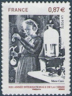 Année internationale de la chimie, Marie Curie