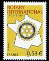 timbre N° 3750, Rotary International