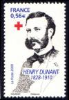 timbre N° 4386, Croix Rouge, Henry Dunant (1828-1910)