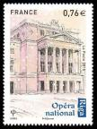 timbre N° 4941, Capitales européennes Riga, Opéra national