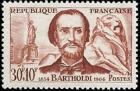 timbre N° 1212, Frédéric Auguste Bartholdi (1834-1904)