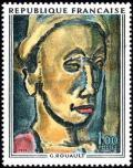 timbre N° 1673, Georges Rouault (1871-1958)  «Songe creux»