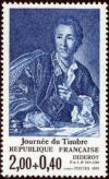 timbre N° 2304, Diderot - Journée du timbre
