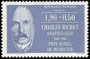 Charles Richet (1850-1935) physiologiste prix Nobel 1913