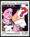timbre N° 2512, La communication vue par Jacques Tardi