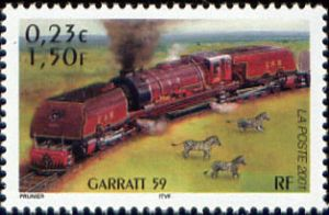 Les légendes du rail : locomotive Garrat 59