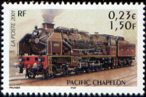 Les légendes du rail : locomotive Pacific Chapelon
