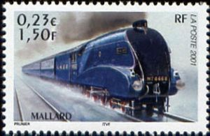 Les légendes du rail : locomotive Mallard