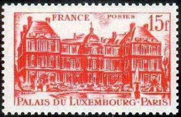 Palais du Luxembourg 15 F rouge
