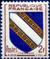 timbre N° 953, Champagne