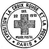 Oblitération 1er jour à Paris au Musée Postal le 22 décembre 1950