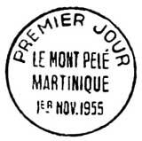 Oblitération 1er jour à Paris salon de l'enfance le 11 novembre 1955
