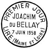 Oblitération 1er jour à Liré le 7 juin 1958