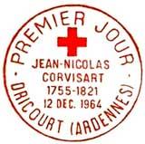 Oblitération 1er jour à Baudéan le 12 décembre 1964