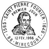 Oblitération 1er jour à Méricourt le 12 février 1966