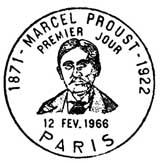 Oblitération 1er jour à Paris et Illiers le 12 février 1966