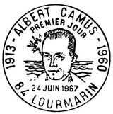 Oblitération 1er jour à Lourmarin le 24 juin 1967