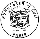 Oblitération 1er jour à Paris le 6 mai 1967