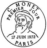 Oblitération 1er jour à Paris le 17 juin 1972