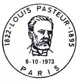 Oblitération 1er jour à Paris et Dôle le 6 octobre 1973