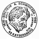 Oblitération 1er jour à Kaysersberg le 11 janvier 1975