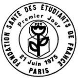 Oblitération 1er jour à Paris le 21 juin 1975