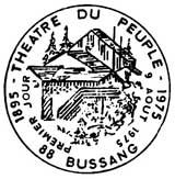 Oblitération 1er jour à Bussang le 9 aout 1975