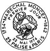 Oblitération 1er jour à Paris le 22 mai 1976