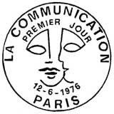 Oblitération 1er jour à Paris le 12 juin 1976