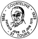 Oblitération 1er jour à Tours le 23 juin 1979