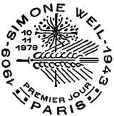 Oblitération 1er jour à Paris le 10 novembre 1979