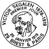 Oblitération 1er jour à Paris et Brest le 20 janvier 1979