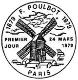 Oblitération 1er jour à Paris le 24 mars 1979