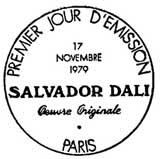 Oblitération 1er jour à Paris le 17 novembre 1979