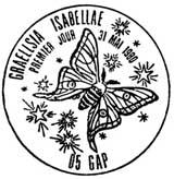 Oblitération 1er jour à Gap le 31 mai 1980