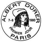 Oblitération 1er jour à Paris le 7 juin 1980
