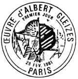 Oblitération 1er jour à Paris le 28 février 1981