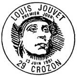 Oblitération 1er jour à Crozon le 13 juin 1981