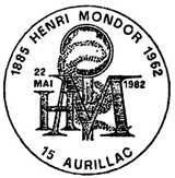 Oblitération 1er jour à Saint-Germain, Aurillac et Créteil le 22 mai 1982
