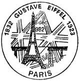 Oblitération 1er jour à Dijon et Paris le 18 décembre 1982