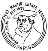Oblitération 1er jour à Paris le 12 février 1983