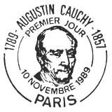 Oblitération 1er jour à Paris le 11 novembre 1989