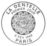 Oblitération 1er jour à Paris le 3 févrierr 1990