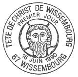 Oblitération 1er jour à Wissembourg le 16 juin 1990