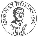 Oblitération 1er jour à Paris le 3 mars 1990